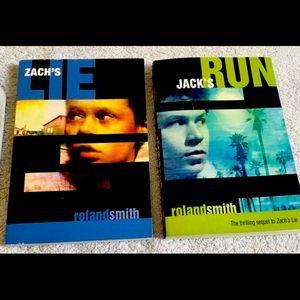 Zachs lie and Jacks run book series